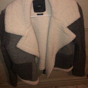 Zara wool jacket, size small